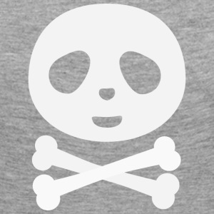 Kawaii Panda Pirate skull Long Sleeve Shirts - Women's Premium Longsleeve Shirt