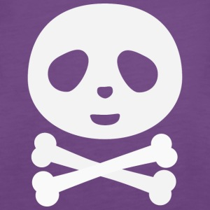 Kawaii Panda Pirate skull Tops - Women's Premium Tank Top