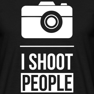 I shoot people Photo Tee shirts - T-shirt Homme