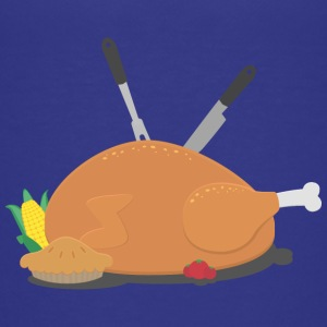 Thanksgiving bordpynt T-shirts - Teenager premium T-shirt