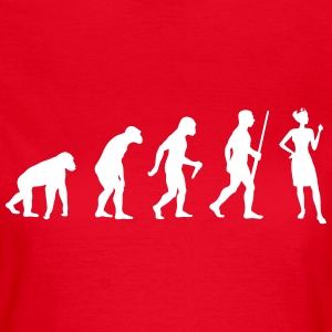 Nurse Evolution - Frauen T-Shirt