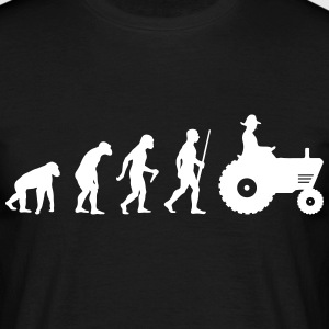 Farmer evolution - Männer T-Shirt