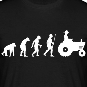 Agriculture tracteur Evolution Tee shirts - T-shirt Homme