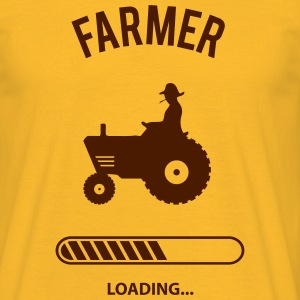 Farmer loading - Männer T-Shirt
