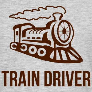 Train driver Locomotive Tee shirts - T-shirt Homme