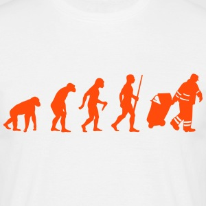 Garbage Man evolution Tee shirts - T-shirt Homme
