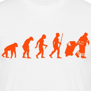 Garbage Man evolution - Männer T-Shirt