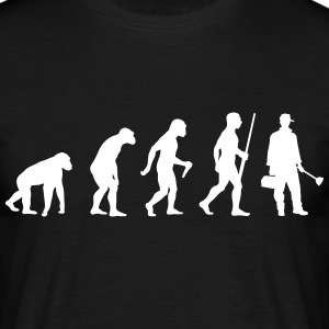 Plumber evolution - Männer T-Shirt