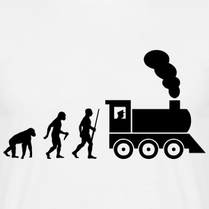Train driver evolution Tee shirts - T-shirt Homme