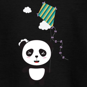 Panda with colorful Dragon Shirts - Kids' T-Shirt