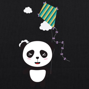 Panda with colorful Dragon Bags & Backpacks - EarthPositive Tote Bag