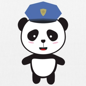 Panda-policeman Bags & Backpacks - EarthPositive Tote Bag