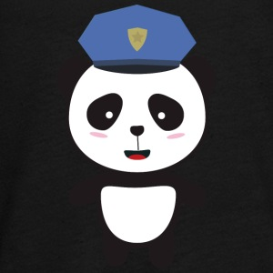 Panda-policeman Long Sleeve Shirts - Teenagers' Premium Longsleeve Shirt