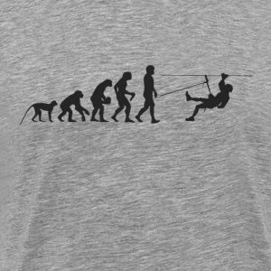 Evolution rapelling T-shirts - Herre premium T-shirt