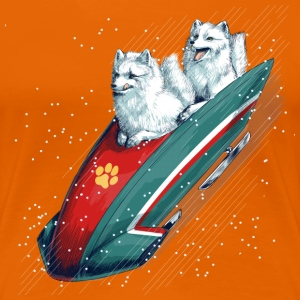 Arctic Fox Bobsleigh T-Shirts - Frauen Premium T-Shirt