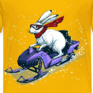 Hare Snowmobile T-Shirts - Kinder Premium T-Shirt