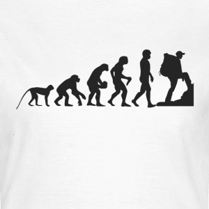 Evolution Wandern T-Shirts - Frauen T-Shirt