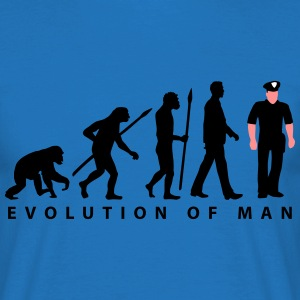 evolution us_cop_police_marshall_sheriff T-Shirts - Männer T-Shirt