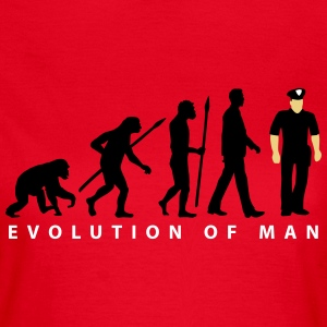 evolution us_cop_police_marshall_sheriff T-Shirts - Frauen T-Shirt