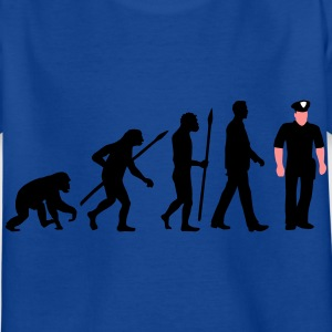 evolution us_cop_police_marshall_sheriff T-Shirts - Kinder T-Shirt