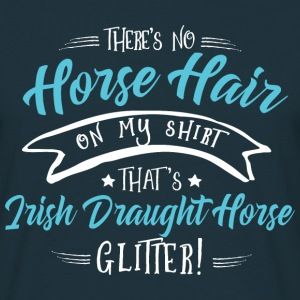 Glitter Irish Draught Horse  T-Shirts - Men's T-Shirt