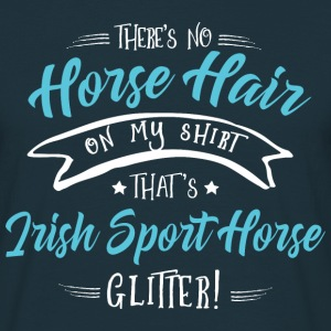 Glitter Irish Sport Horse  T-Shirts - Men's T-Shirt