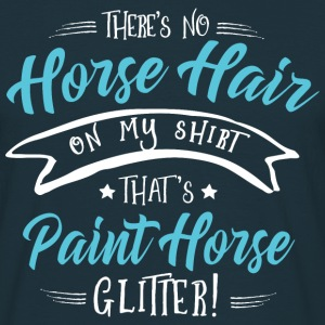 Glitter Paint Horse  T-Shirts - Men's T-Shirt