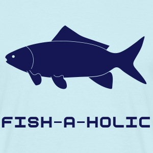 Fish-a-holic - Men's T-Shirt