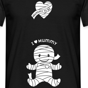 Halloween Mummy Maternity T-Shirts - Men's T-Shirt