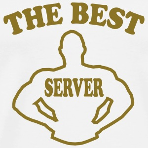 The best server T-Shirts - Männer Premium T-Shirt