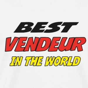 Best vendeur in the world T-Shirts - Men's Premium T-Shirt