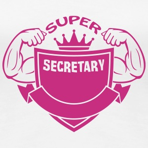 Super secretary T-Shirts - Women's Premium T-Shirt