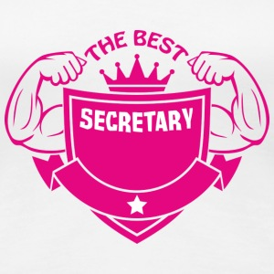 The best secretary T-Shirts - Women's Premium T-Shirt