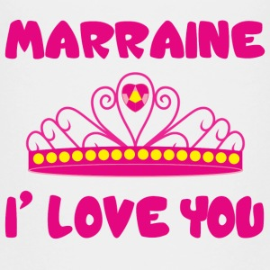 Marraine I love you  Shirts - Teenage Premium T-Shirt