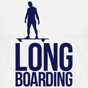 long boarding T-Shirts - Men's Premium T-Shirt