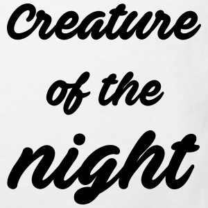 Creature of the night Magliette - Maglietta ecologica per bambini