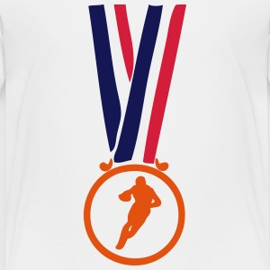 football americain champion medaille T-Shirts - Kinder Premium T-Shirt