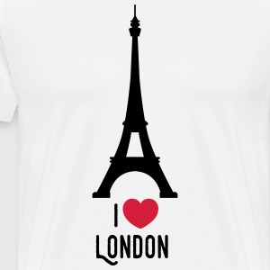 london T-skjorter - Premium T-skjorte for menn