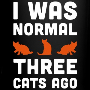 3 Cats Ago Funny Quote Mugs & Drinkware - Full Colour Mug