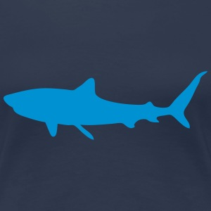 shark 1 T-Shirts - Frauen Premium T-Shirt