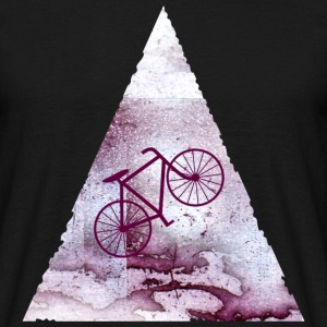 space bike  T-shirts - Mannen T-shirt