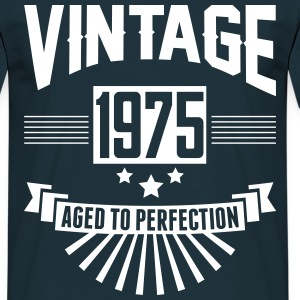 VINTAGE 1975 - Aged To Perfection  T-Shirts - Men's T-Shirt