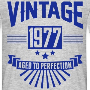 VINTAGE 1977 - Aged To Perfection T-Shirts - Men's T-Shirt