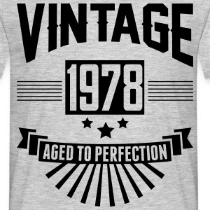 VINTAGE 1978 - Aged To Perfection T-Shirts - Men's T-Shirt