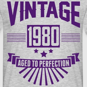 VINTAGE 1980 - Aged To Perfection T-Shirts - Men's T-Shirt