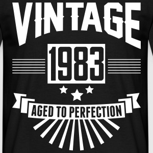 VINTAGE 1983 - Aged To Perfection T-Shirts - Men's T-Shirt