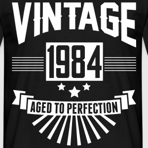 VINTAGE 1984 - Aged To Perfection T-Shirts - Men's T-Shirt