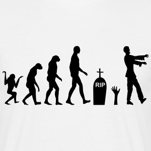 Zombie Evolution Zombi - Men's T-Shirt