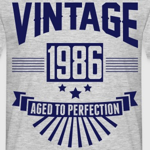 VINTAGE 1986 - Aged To Perfection T-Shirts - Men's T-Shirt
