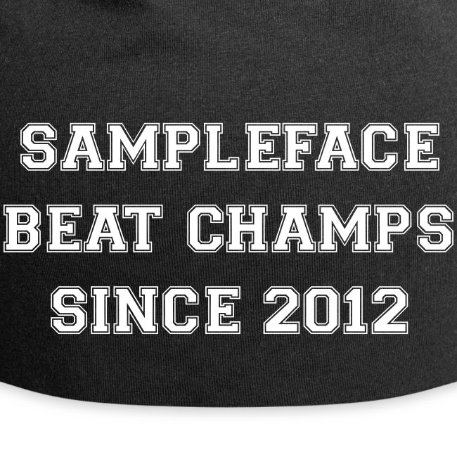 Sampleface Beat Champs Beanie